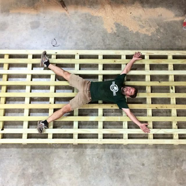 Sometimes you have to build extreme pallets for special slabshellip
