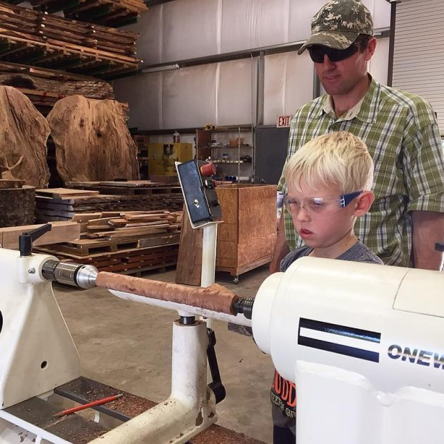 Fridays are for turning! inthewoodshopwithclayberdoll Dont forget we are openhellip
