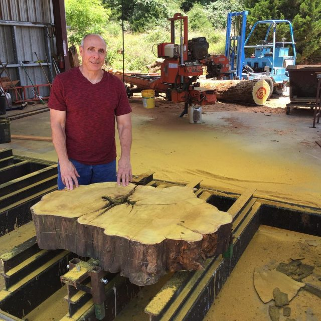 Longtime customer and highly talented furniture maker Louis Fry broughthellip