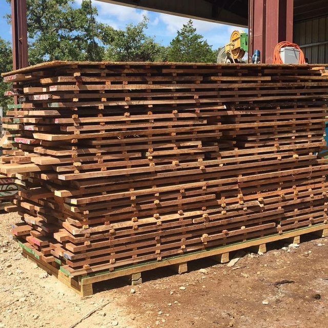 44 Texas Black Walnut fresh off the mill!