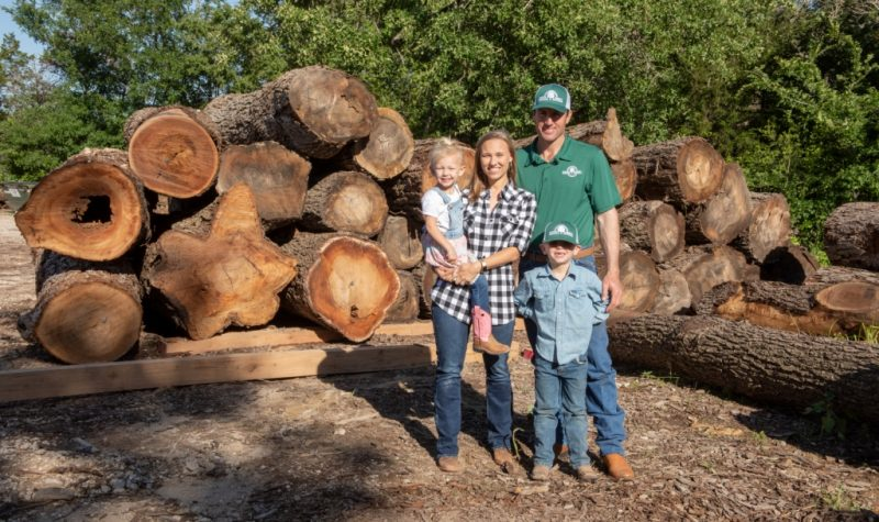 Berdoll Sawmill | Natural Edge Slabs, Native Texas Lumber